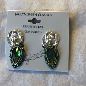 Jaclyn Smith Classics Clip on Earrings senisitive
